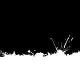Tinte-befleckter Randhintergrund getrennt. lizenzfreie abbildung