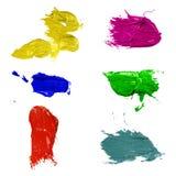 Tinte Splatters Lizenzfreie Stockfotos