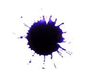 Tinte spritzt stockfotos