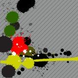 Tinte spritzt Hintergrund Lizenzfreies Stockfoto