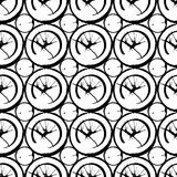 Tinte verschüttetes geometrisches nahtloses Muster des Flecks Lizenzfreie Stockbilder