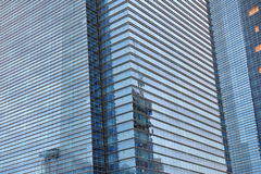 Tinted glass modern building Royalty Free Stock Image