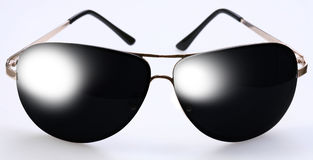 Tinted glasses Stock Images