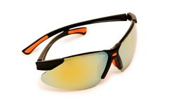 Tinted sunglasses isolated. On the white background Royalty Free Stock Images