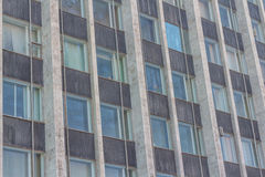 Tinted windows urban building Royalty Free Stock Photography