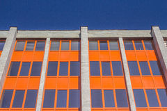 Tinted windows urban building. A clear day Royalty Free Stock Image
