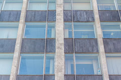 Tinted windows urban building. A clear day Royalty Free Stock Photography