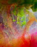 Tinten im Wasser stockbilder