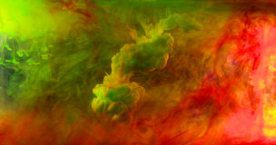 Tinten im Wasser lizenzfreies stockbild