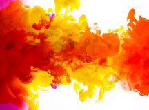 Tinten im Wasser Lizenzfreie Stockfotos