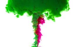 Tinten im Wasser Stockfotografie