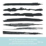Tintenanschläge vol. 5 Lizenzfreies Stockbild