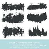 Tintenanschläge vol. 5 Stockfotos