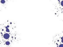 Tintenflecke Stockbild