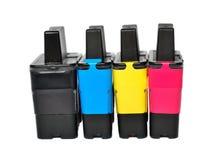 Tintenkassetten lizenzfreie stockfotografie