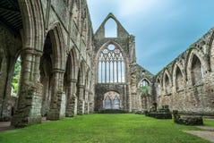 Tintern修道院,威尔士,英国 免版税图库摄影