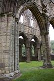 Tintern Abbey. Arches in the Presbytery at Tintern Abbey Wales Royalty Free Stock Photo