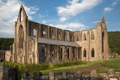Tintern abbey cathedral ruins. Stock Photography