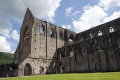 Tintern Abbey in Wales Royalty Free Stock Photos