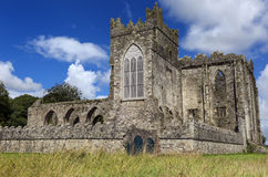 Tintern Abbey was a Cistercian abbey located on the Hook peninsula, County Wexford, Ireland. Royalty Free Stock Photo