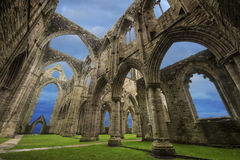 Tintern Abtei, Wales Lizenzfreie Stockbilder