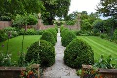 Tintinhull庭院,萨默塞特,英国,英国 免版税库存照片