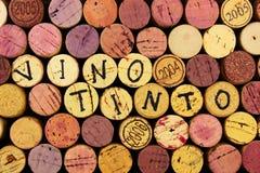 Tinto del vino. Imagen de archivo libre de regalías