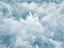 Tints of Fractal Foam Royalty Free Stock Photos
