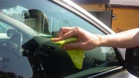 Tintura della finestra di automobile Fotografia Stock Libera da Diritti