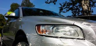Tintura della finestra di automobile Fotografie Stock