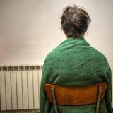 Tintura per capelli domestica - la realtà unglamorous Fotografia Stock Libera da Diritti