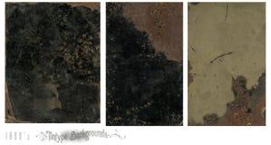 Tintype uitstekende achtergronden Royalty-vrije Stock Afbeeldingen