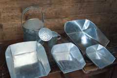 Tinware. Made in Shanghai, China Stock Image