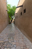 Tiny alleyways in the old arabic merchant quarter Stock Image