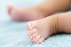 Tiny baby feet Stock Image