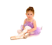 Tiny Ballerina Stock Images