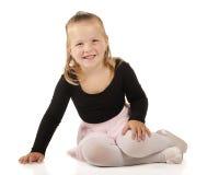 Tiny Ballerina Royalty Free Stock Photos