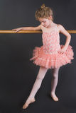 Tiny Ballerina Royalty Free Stock Images