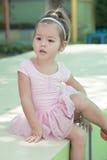 Tiny ballet dancer Stock Image