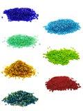 Tiny beads Stock Photo