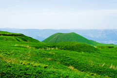 Tiny beautifull volcano in Japan Stock Images