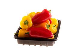 Tiny bell peppers Royalty Free Stock Images