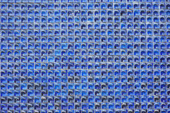 Tiny Blue Tiles Royalty Free Stock Image