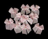 Tiny bows group Royalty Free Stock Image