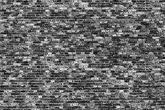 Tiny brickwall bw Royalty Free Stock Photos