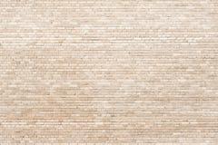Tiny brickwall  creamy texture Stock Images