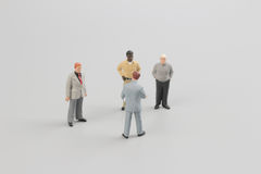 Tiny business people of group Stock Photography
