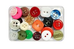 Tiny buttons Royalty Free Stock Photography