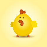 Tiny Chick Royalty Free Stock Photography