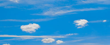 Tiny Clouds Royalty Free Stock Photos